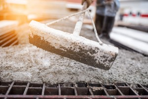betongyártás